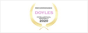 Doyles Recommended IP Lawyer 2020 badge